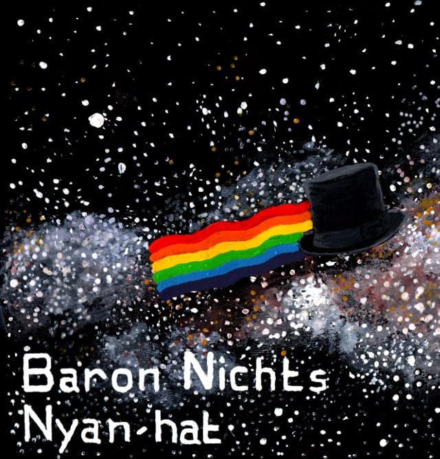 Pochette de l'album Nyan-hat de Baron Nichts