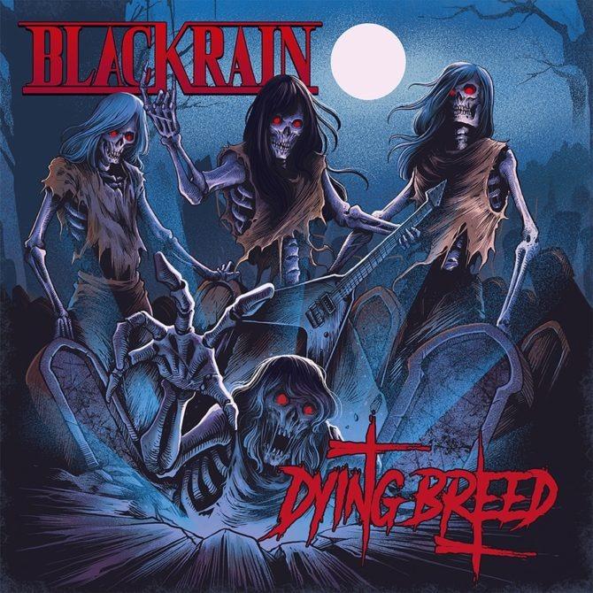 Pochette de l'album Dying Breed de BlackRain