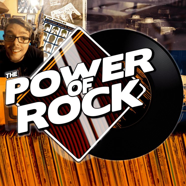 Visuel pour le podcast de l'émission The Power of rock